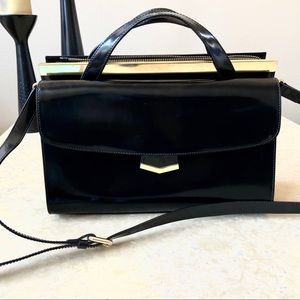 Alberta di Canio Italian Genuine Leather Satchel